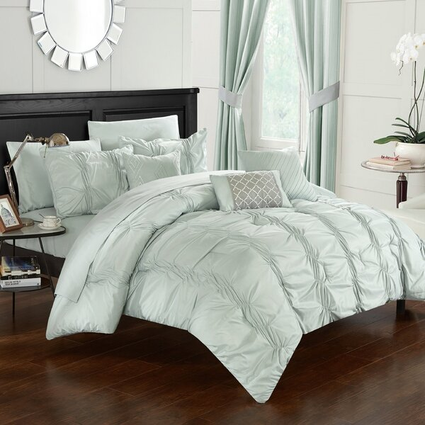 10 Piece Tori Comforter Set by Chic Home