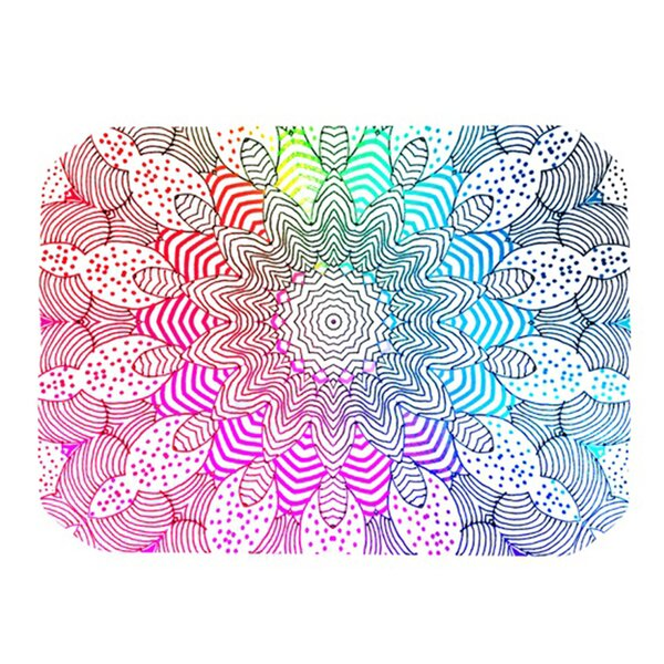 Rainbow Dots Placemat by KESS InHouse