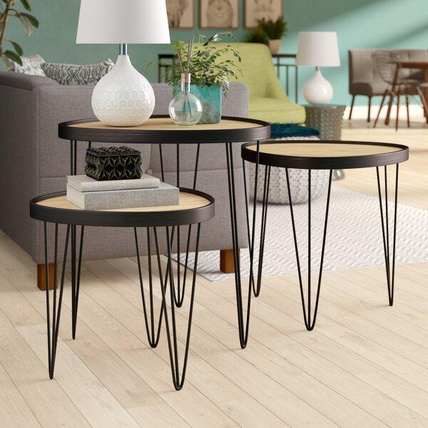 Fogle 3 Piece Nesting Tables (Set Of 3) By Ivy Bronx
