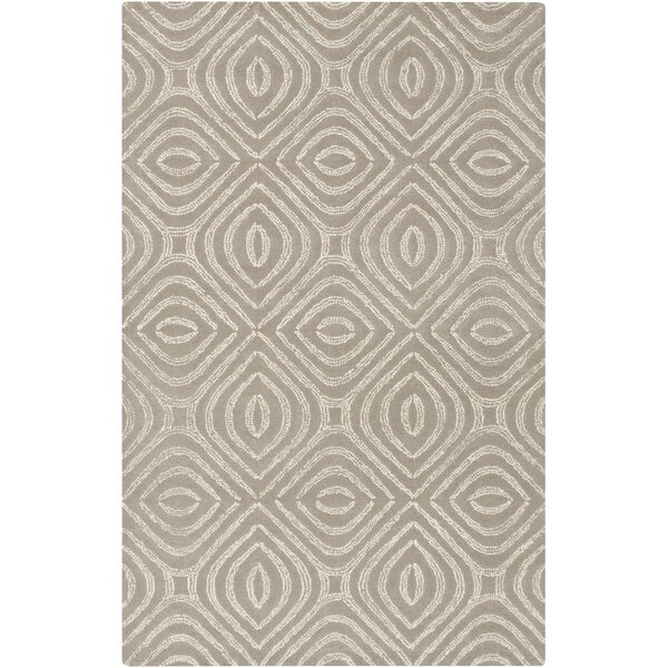 Rosa Hand-Tufted Gray Area Rug by Langley Street