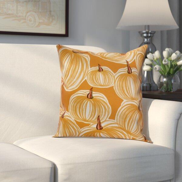 Miller Pumpkins-A-Plenty Geometric Throw Pillow by Alcott Hill