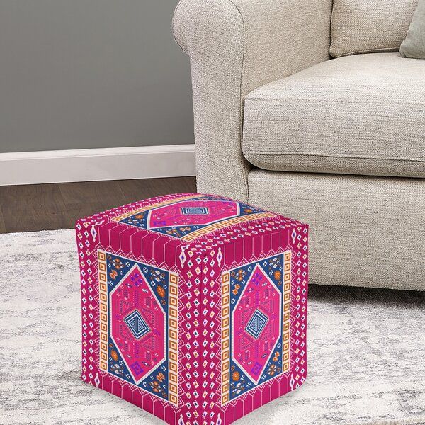 Darden Pouf by Bungalow Rose