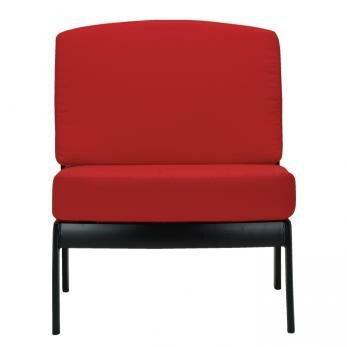 South Beach Armless Module Chair with Cushion by Tropitone