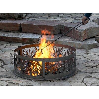 Outdoor Fire Poker | Wayfair on Quillen Steel Wood Burning Outdoor Fireplace id=83826