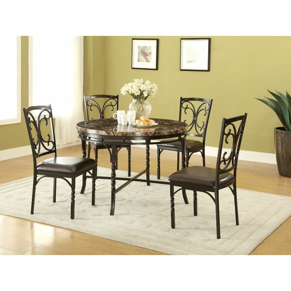 Sedgwick 5 Piece Dining Set By Fleur De Lis Living