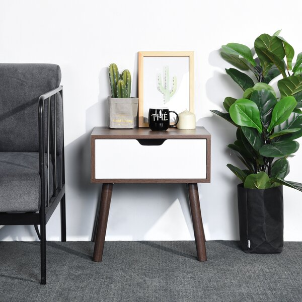 Radnor Solid Wood End Table Set With Storage By Corrigan Studio