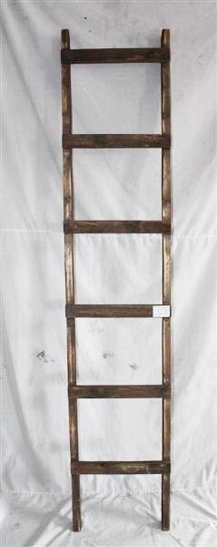 Rustic 6 ft Decorative Ladder by Gracie Oaks