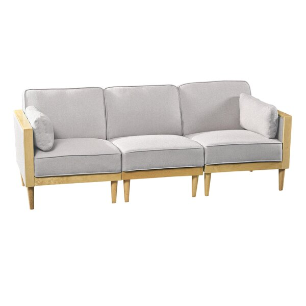 Reed Mid-Century Modern Modular Sofa By George Oliver
