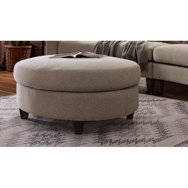 Ameer Tufted Ottoman by House of Hampton