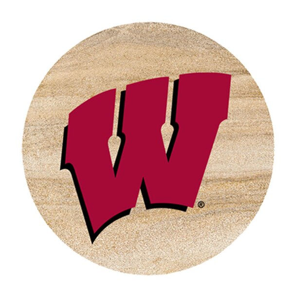 University of Wisconsin Collegiate Coaster (Set of 4) by Thirstystone