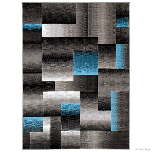 Rowe Blue Area Rug by Ebern Designs
