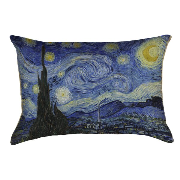 Woodlawn Starry Night Outdoor Pillow Cover