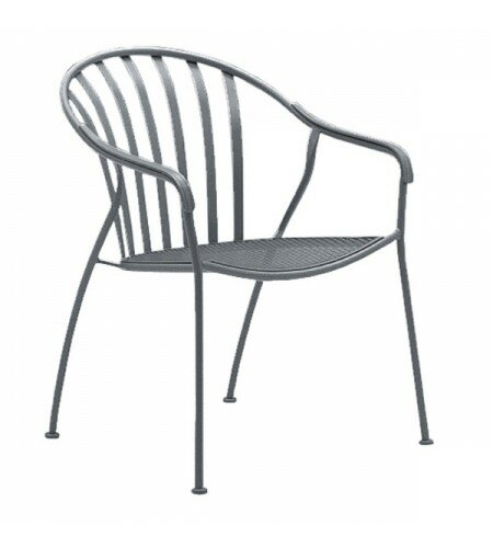 Valencia Barrel Stacking Patio Dining Chair by Woodard