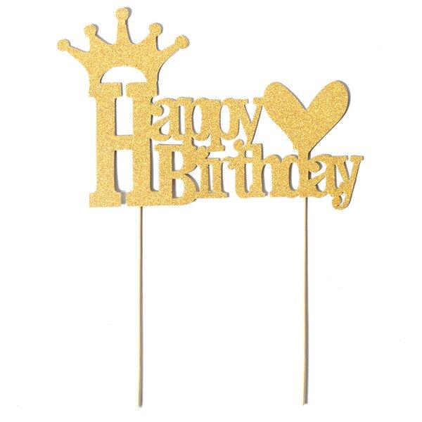 Happy Birthday Cake Topper by Paper Jazz