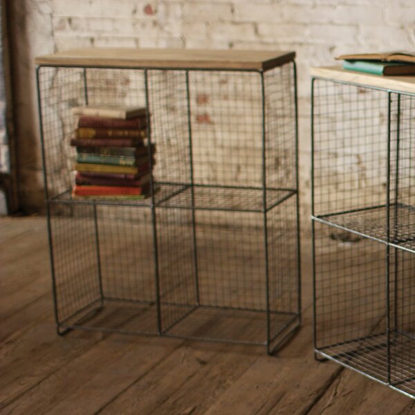 Locklin Wire Cubby Console 36.25 H Shelving Unit by 17 Stories