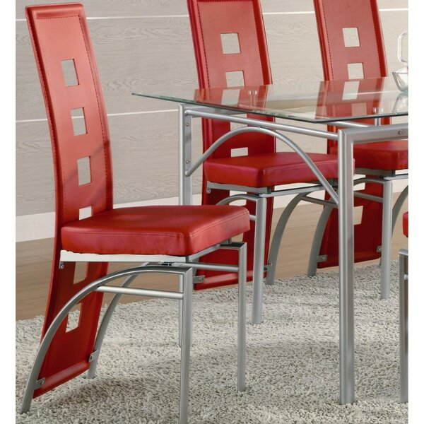 Checkman High Back Dining Chair (Set of 2) by Orren Ellis