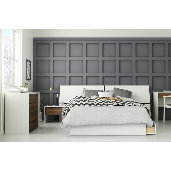 Lazo Platform 4 Piece Bedroom Set by Ebern Designs