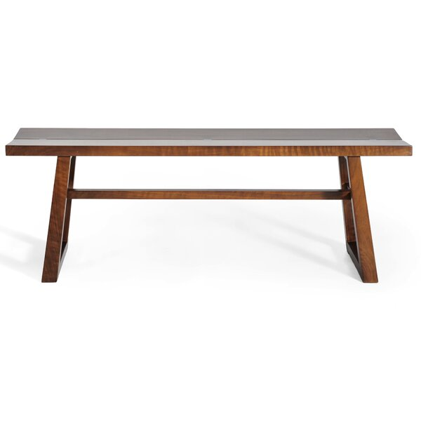 Chelsea Walnut Bench by Gingko Home Furnishings