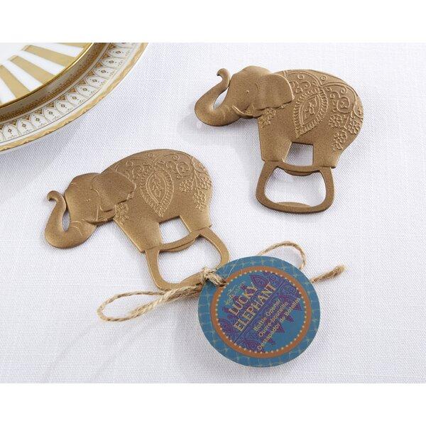 Marchlik Lucky Elephant Bottle Opener (Set of 12) by Winston Porter