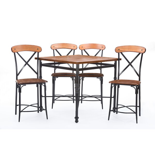 Mchaney 5 Piece Pub Table Set by Williston Forge