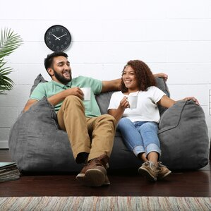 Big Joe Imperial Bean Bag Sofa by Comfort Research
