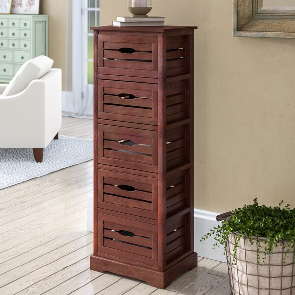 Maeline 5 Drawer Accent Chest by August Grove