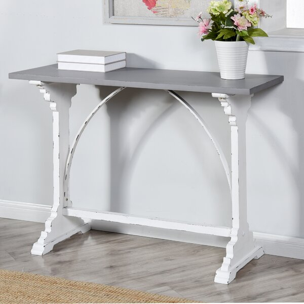 Enrique Distressed Console Table By Ophelia & Co.