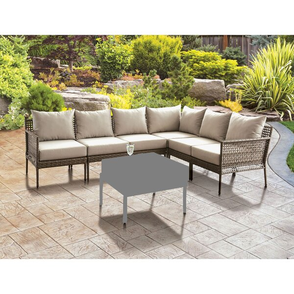 Cumminsville Patio Sectional with Cushions by Latitude Run