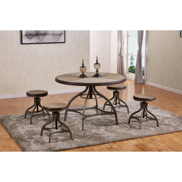 Clarklake 5 Piece Dining Set by 17 Stories