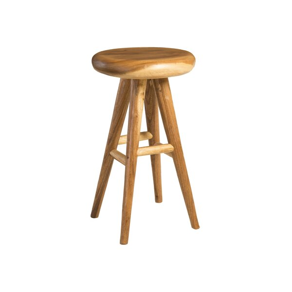 Clifton Wood Bar Stool by Foundry Select