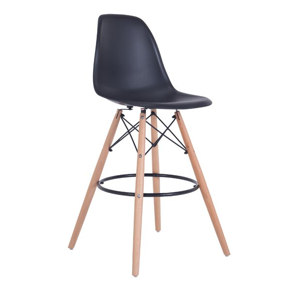 Duty 27.6 Bar Stool (Set of 2) by Wrought Studio