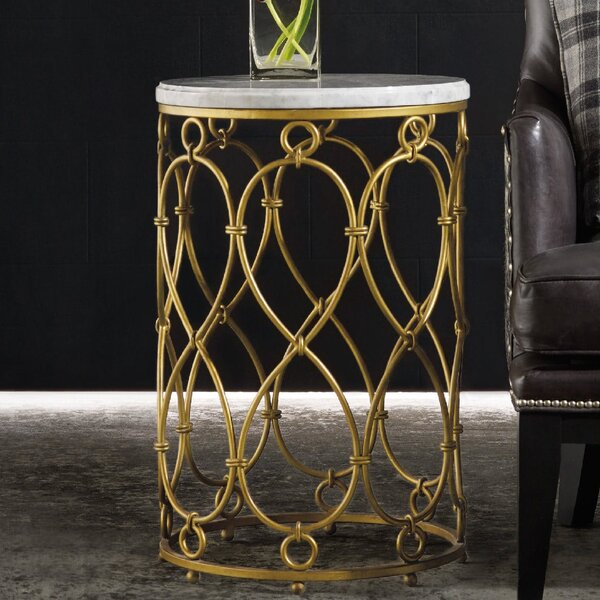 Melange Spencer End Table by Hooker Furniture