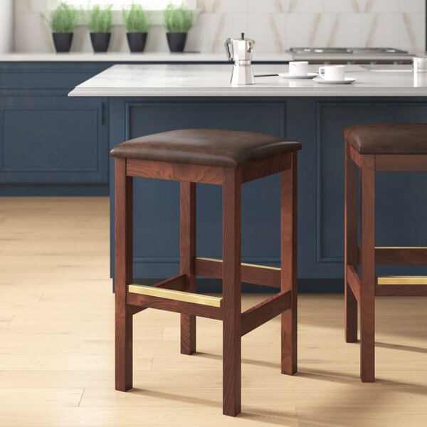 Beechwood Square Backless Bar & Counter Stool By Regal