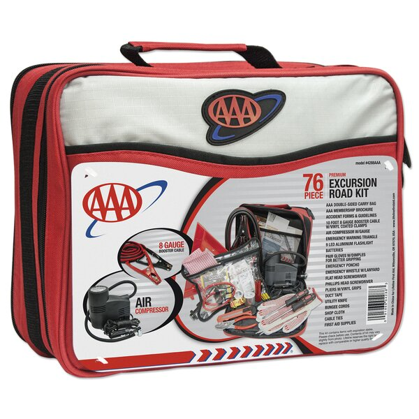 76 Piece AAA Excursion Road Kit by Lifeline