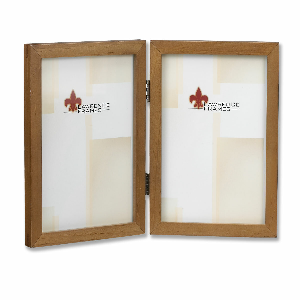 Lawrence Frames Hinged Double Picture Frame & Reviews | Wayfair