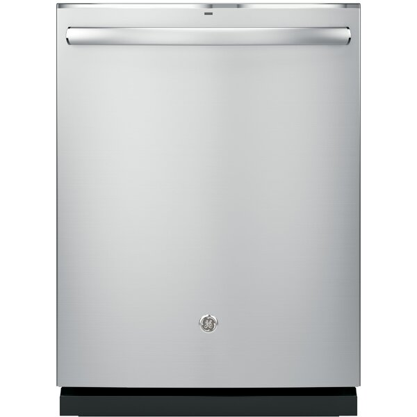 24 46 dBA Built-In Dishwasher with Hidden Controls