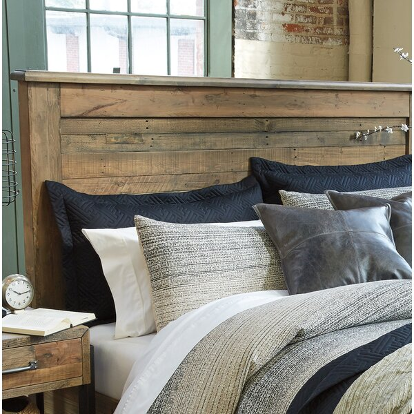 Burkhead Panel Headboard By Union Rustic by Union Rustic Reviews