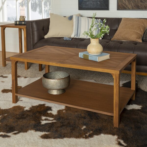 Schrimsher Solid Wood Coffee Table By Gracie Oaks