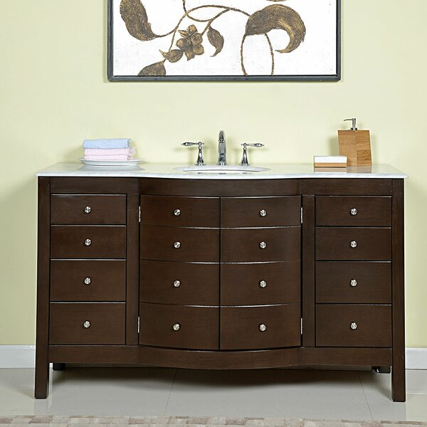 Immanuel 60 Single Bathroom Vanity Set by Rosdorf Park