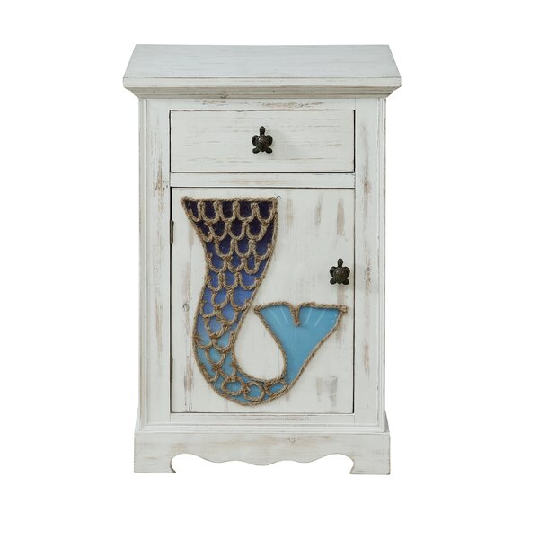 Frisina 1 Door 1 Drawer Accent Cabinet by Highland Dunes