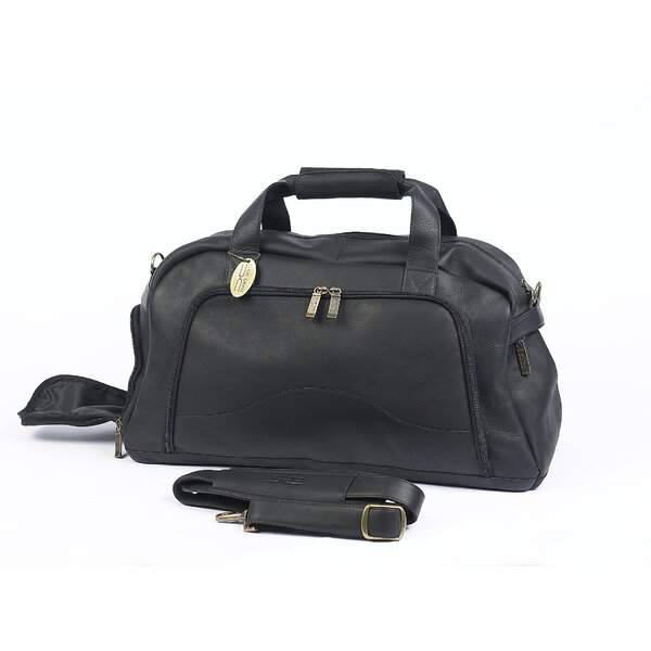 9 Leather Carry-On Duffel by Claire Chase