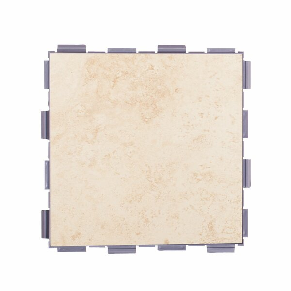 Classic Standard 6 x 6 Porcelain Field Tile in Beige by SnapStone