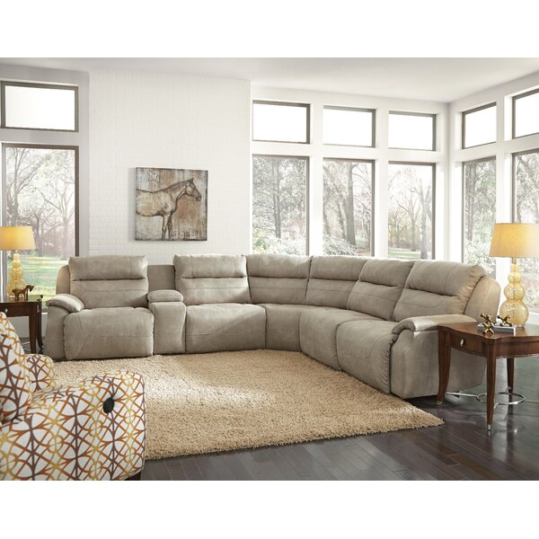 Five Star Reversible Right Hand Facing Reclining Sectional by Southern Motion