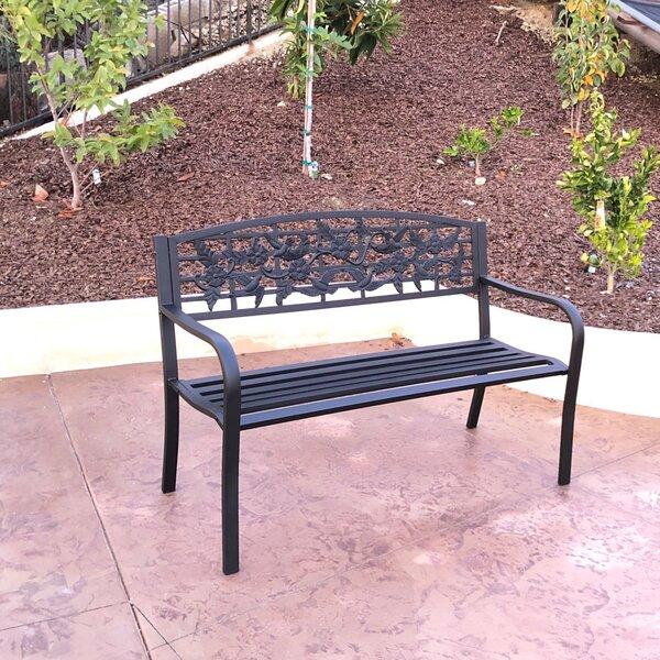 Congress Steel Park Bench by Winston Porter