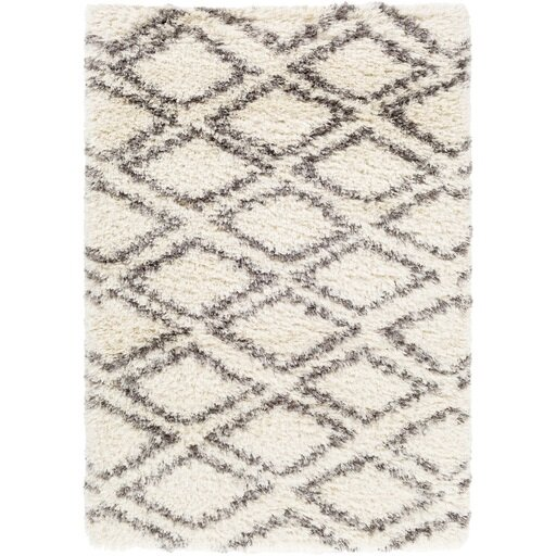 Hutchinson Neutral/Gray Area Rug by Mistana