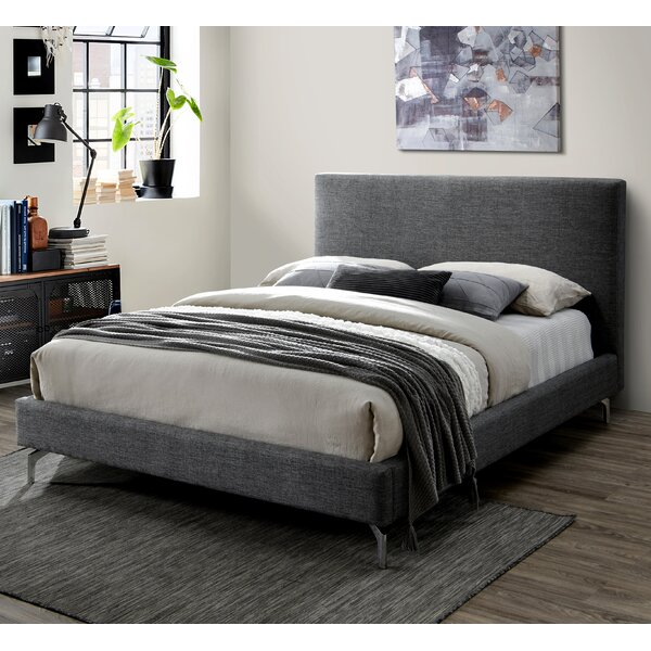 Dunnom Queen Upholstered Platform Bed By Latitude Run