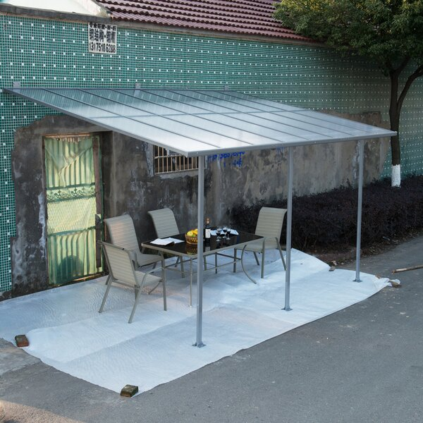 Outsunny 15 ft. W x 10 ft. D Patio Awning by Outsunny