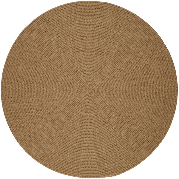 Handmade Camel Indoor/Outdoor Area Rug1 by The Conestoga Trading Co.