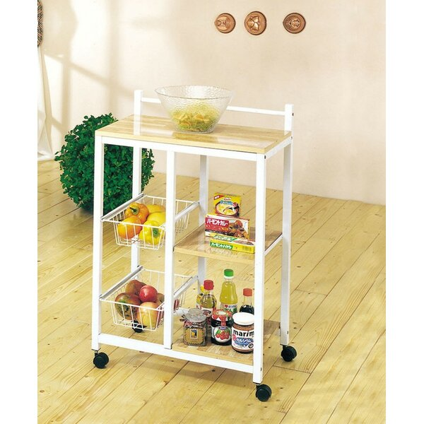 Paton Kitchen Cart by Wrought Studio