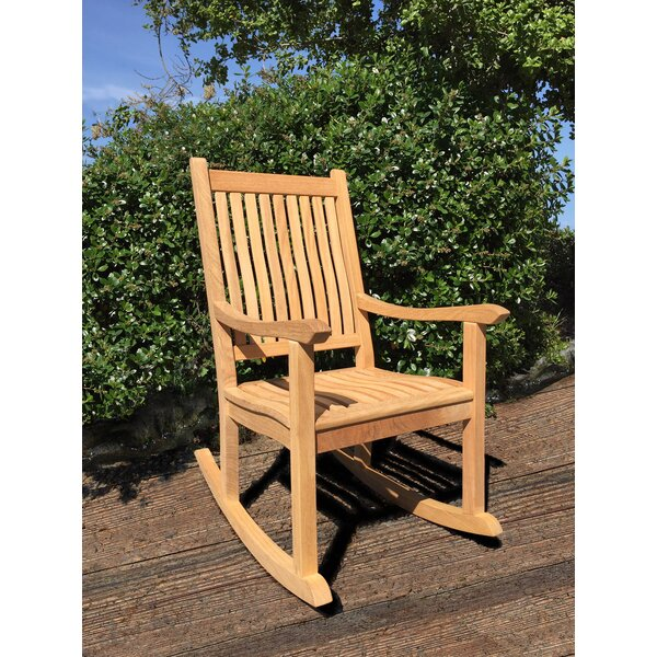 Kinser Roble Rocking Chair by Highland Dunes